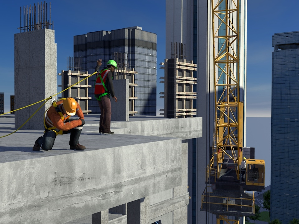 SafetyVantage Fall Protection for working at Heights