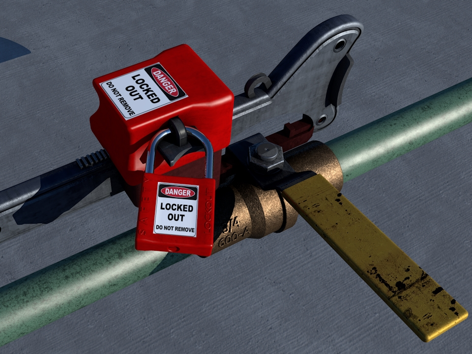 Lockout-Tagout and Hazardous Energy Control Image