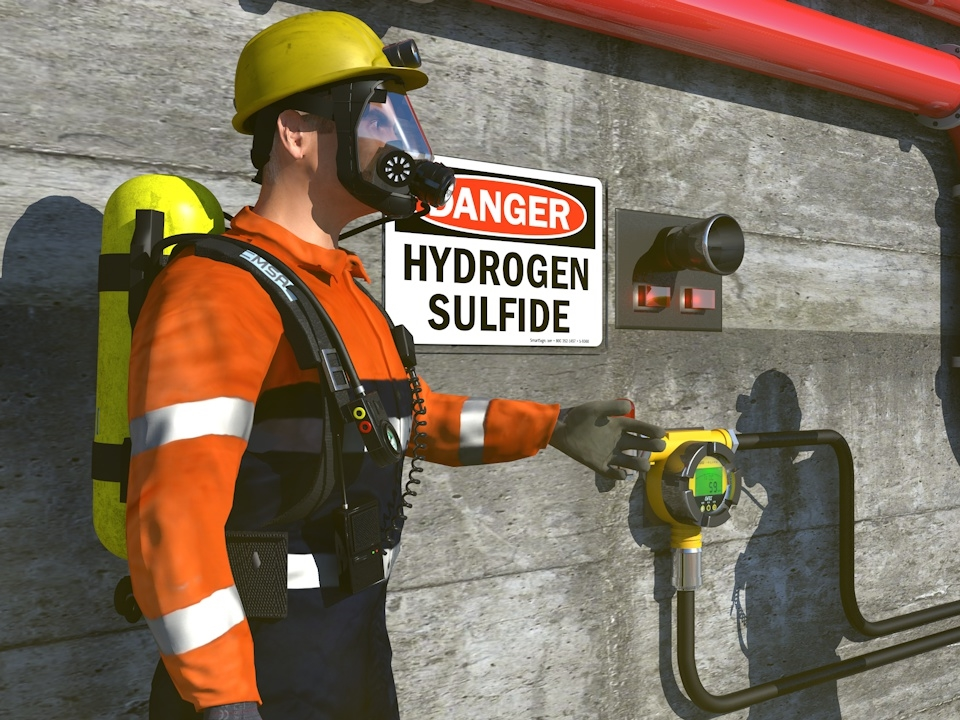 Hydrogen Sulfide (H2S) Awareness Image