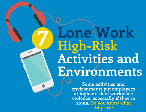 InfoGraphic: Working Alone – 7 High Risk Environments and 7 High Risk Activities
