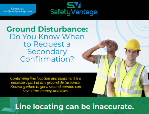 InfoGraphic: Ground Disturbance Secondary Confirmation