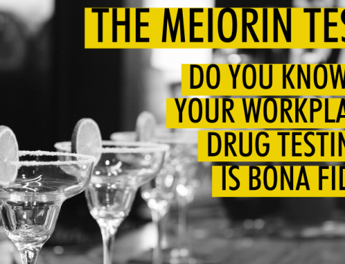 InfoGraphic: Meiorin Test – Drug Testing & BFOR