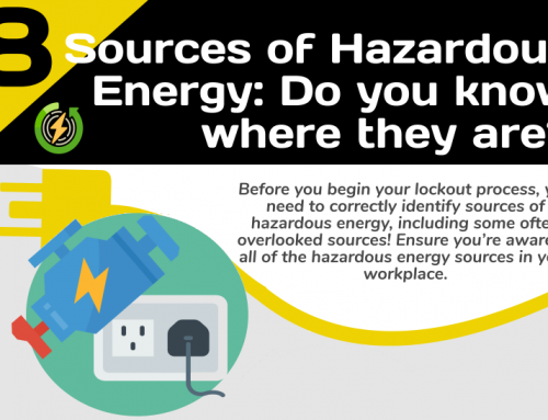 InfoGraphic: Lockout-Tagout – Identifying Energy Sources