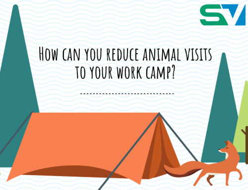 InfoGraphic: How can you reduce animal visits to your work camp?