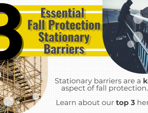 InfoGraphic: Fall Protection Stationary Barriers