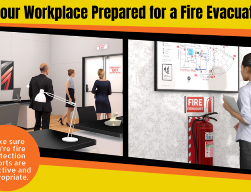 InfoGraphic: Fire Safety Evacuation