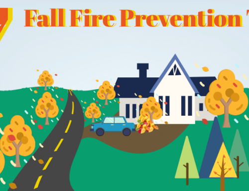 InfoGraphic: Fall Fire Prevention Tips