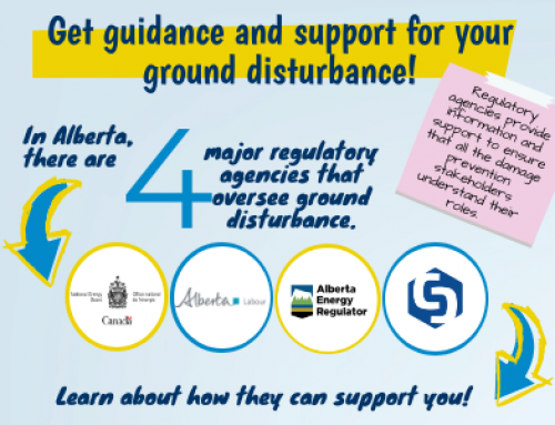 InfoGraphic: Guidance and support for ground disturbance!