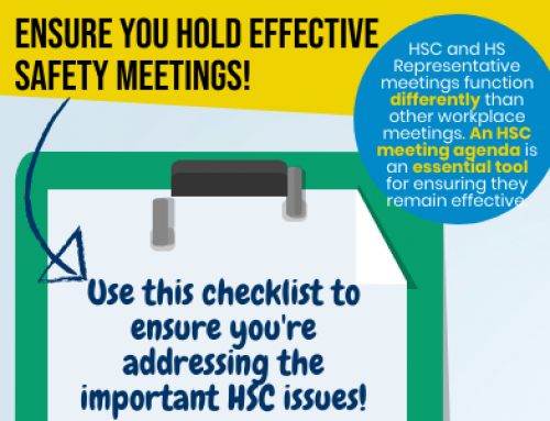 InfoGraphic: Ensure you hold effective safety meetings!
