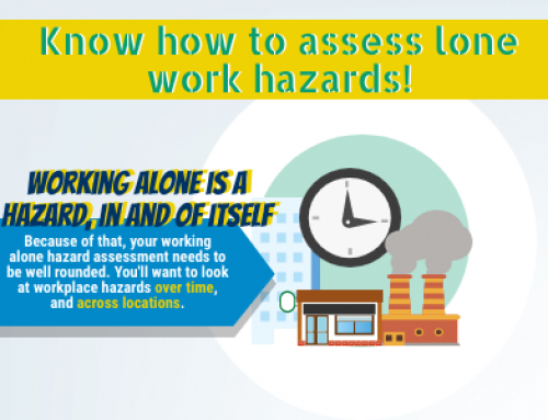 InfoGraphic: Know how to assess lone work hazards!