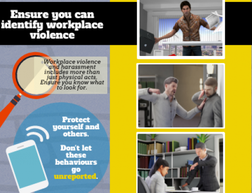 InfoGraphic: Ensure you can identify workplace violence